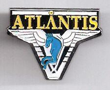 "Stargate  Atlantis Logo 1"" Enamel/Metal Pin- FREE S&H (SGPA-03)"