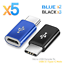 thumbnail 15 - 5X-Micro-USB-Female-to-USB-3-1-Type-C-Male-Converter-Data-Cable-OTG-Adapter