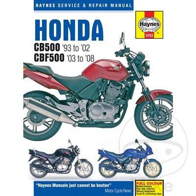 Creatief Honda Cb 500 1994-1995 Haynes Service Repair Manual 3753 Het Verstrekken Van Voorzieningen Voor Het Volk; Het Leven Gemakkelijker Maken Voor De Bevolking