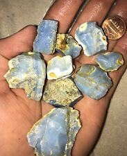 5lb Blue Opal Rough Potch Some Fire 100% Natural Nevada
