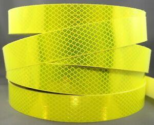 3M-Fluoro-Yellow-Green-4083-Diamond-Grade-Class-1-Reflective-Tape-34mm-x-1m