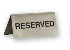 RESERVED-Table-Sign-x-6-Stainless-Steel