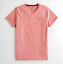 Hollister-homme-a-encolure-ras-du-cou-a-manches-courtes-Muscle-must-have-Courbe-Tee-Logo-T-Shirt miniature 21