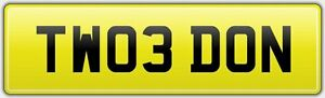 ALL-FEES-PAID-NUMBER-PLATE-TW03-DON-23-DONNA-DONI-DONY-DONALD-DONNY-DONN-DONALD