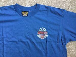 Harley-Davidson-blue-Dealer-Shirt-NWOT-Herren-XL