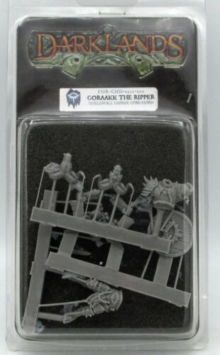 Darklands FMR-CHD-1320-100 Goraakk the Ripper Shieldwall Gabrax Gore-Horn Foot