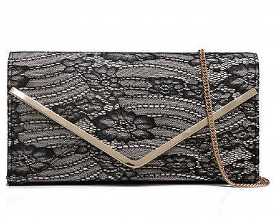 Kleidung & Accessoires Braut-accessoires Intellektuell Luxus Spitzen-clutch-handtasche Abendtasche Tasche Schultertasche Party Sparen Sie 50-70%
