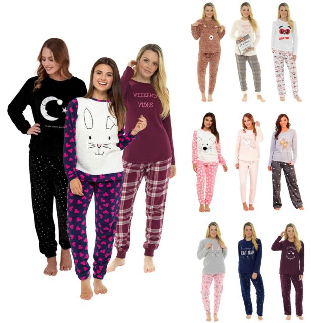 Size 16//18. Ladies Pink Horse Design Hooded Long Sleeve Pyjama All In One