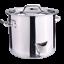 thumbnail 4 - 32QT Stockpot Stainless Steel Stock Pot w/Lid Saucepan Outdoor Gas Cooking Pot