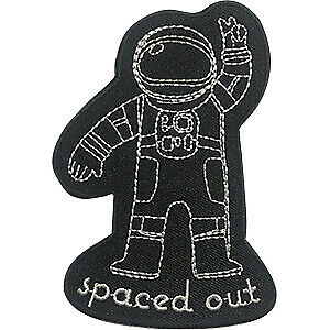 C/&D Space Out Astronaut New Iron-On p-dsx-4783 Patch
