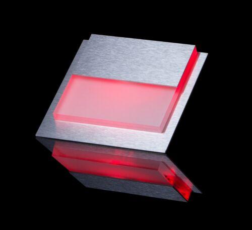 SET LED CARO Wand /& Treppenbeleuchtung Treppenlicht ROT 2W 230V 22//WS//R//ED//230