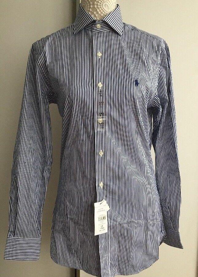 BNWT Polo Ralph Lauren Men's Designer slim fit Shirt 14.5 collar RRP