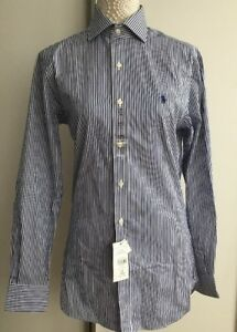 14 Bnwt Men's Designer £85 Slim Polo 5 Collar Ralph Rrp Lauren Fit Shirt rq4x8rg