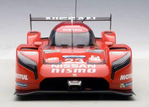 Nissan GT-R LM Nismo 24 H LeMans #23  Pla Mardenborough Chilton 1:18 Autoart