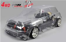 FG Modellsport 4WD 510 chassis FG Trophy unlackiert 26 ccm RTR # 155180R