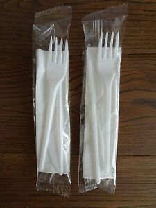 Disposable Plastic Strong Knife Fork Amp Napkin Cutlery Set