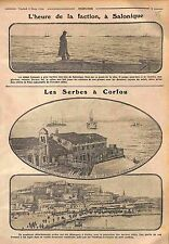 Poilus Salonique Thessaloniki Serbia Army Corfu Fortezza Vecchia Italy WWI 1916
