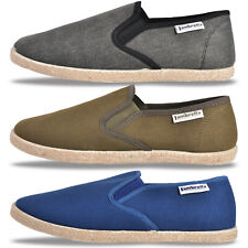 Lambretta Mens Kyak Slip On Espadrille Summer Holiday Shoes ONLY £12.99 Free P&P