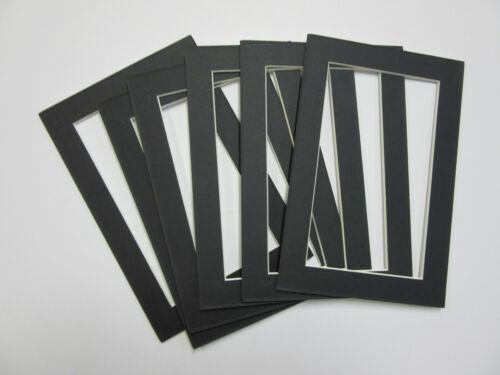 Encuadre de imagen Esteras 4x6 para 3.5x5 Negro Foto Tamaño Pequeño ...