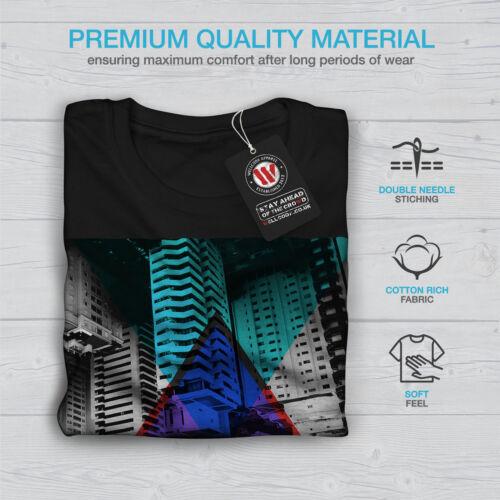 Color Graphic Design Wellcoda Urban Crowd Street City Mens Long Sleeve T-shirt