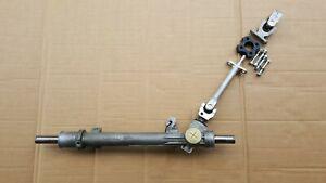 BMW E30 DTM Manual Steering Rack set up