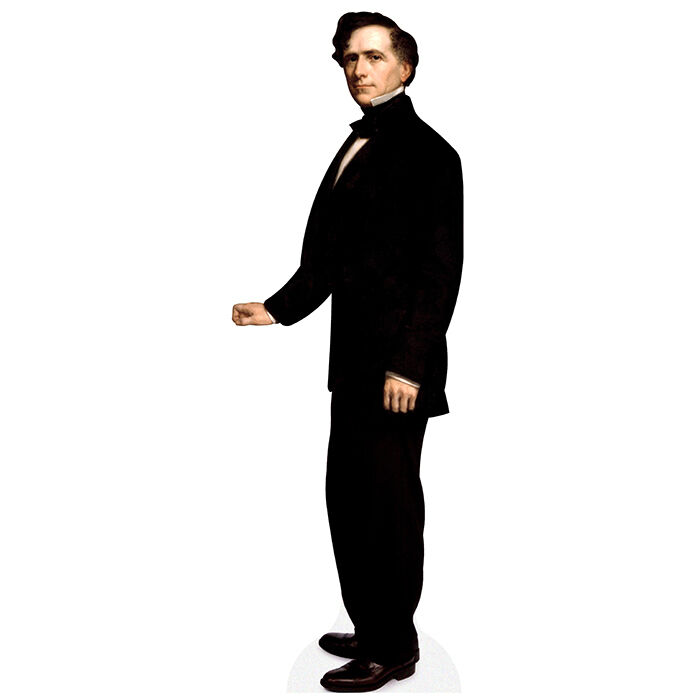 H25014 Franklin Pierce Cardboard Cutout Standup