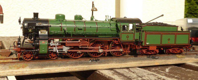 Gebhard Reitz Modelismo H0 Tren Locomotora de Vapor S 10 - Br 17 Kpev Ep.1