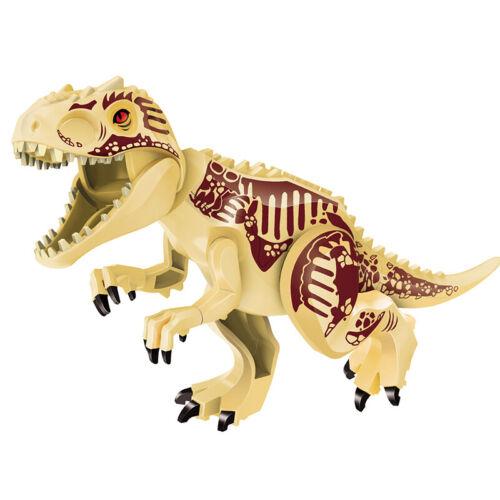 Fossil Indominus Rex XXL Jurassic Large Dinosaur Figure Blocks Fit Lego Toys