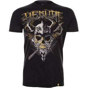 Venum-Viking-T-Shirt-Black-MMA-BJJ-Grappling-Boxing-UFC
