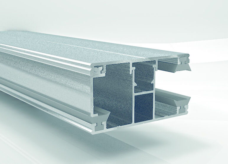 Stegplatten - Verlegeprofil 16mm Randprofil Ober & Unterprofil Doppelstegplatten