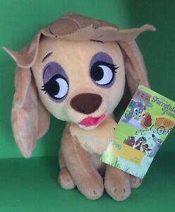 Disney Store Furrytale Peg Plush Soft Toy Lady Tramp Dog 22cm H Brand New Tagge Ebay