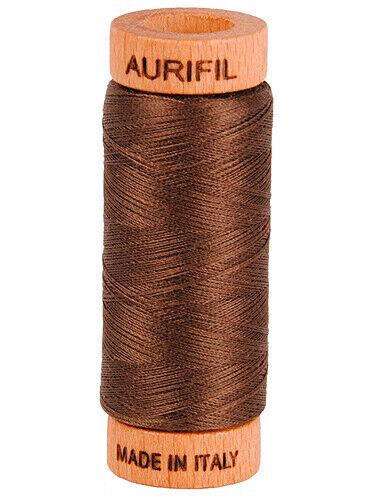Aurifil Mako Thread 80wt Cotton Thread 300 yard spools11 Colors Available
