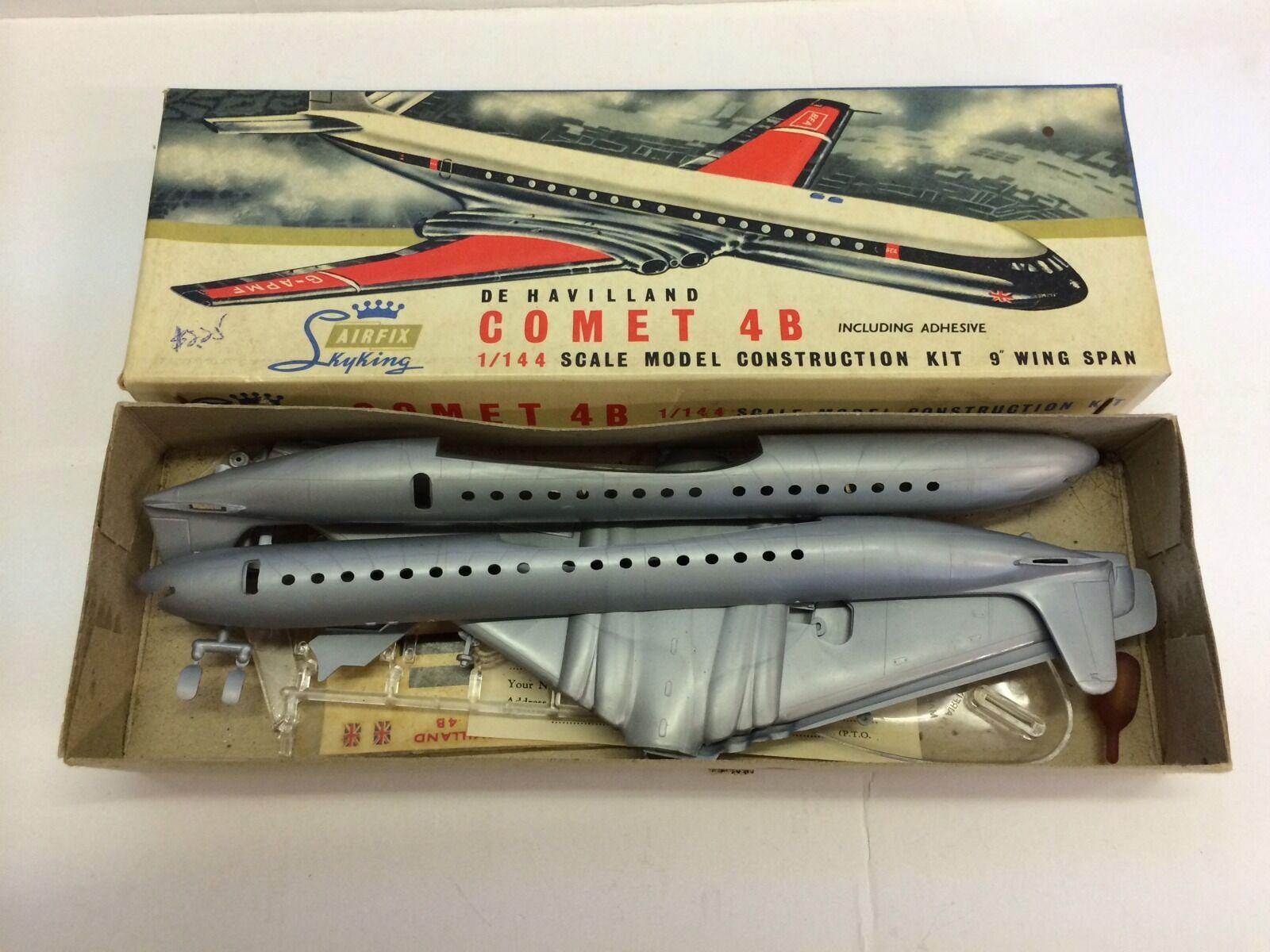 Vintage Boxed Airfix De Havilland Comet 4B 1 144 144 144 Series B 9' Wingspan 38ec06