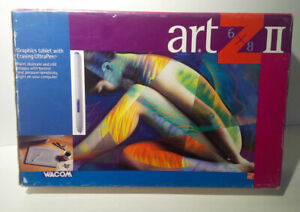 Wacom-Art-Z-II-6x8-Graphics-Tablet-With-Erasing-Ultra-Pen-NEW