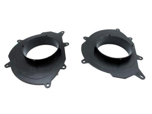 """RENAULT CLIO MEGANE FRONT DOOR SPEAKER ADAPTORS CT25RT08 165MM 6.5/"""""""