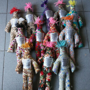 "Pattern Color Stress Relief 12/"" Dammit Doll Plush Kids Birthday Gift Toy Random"