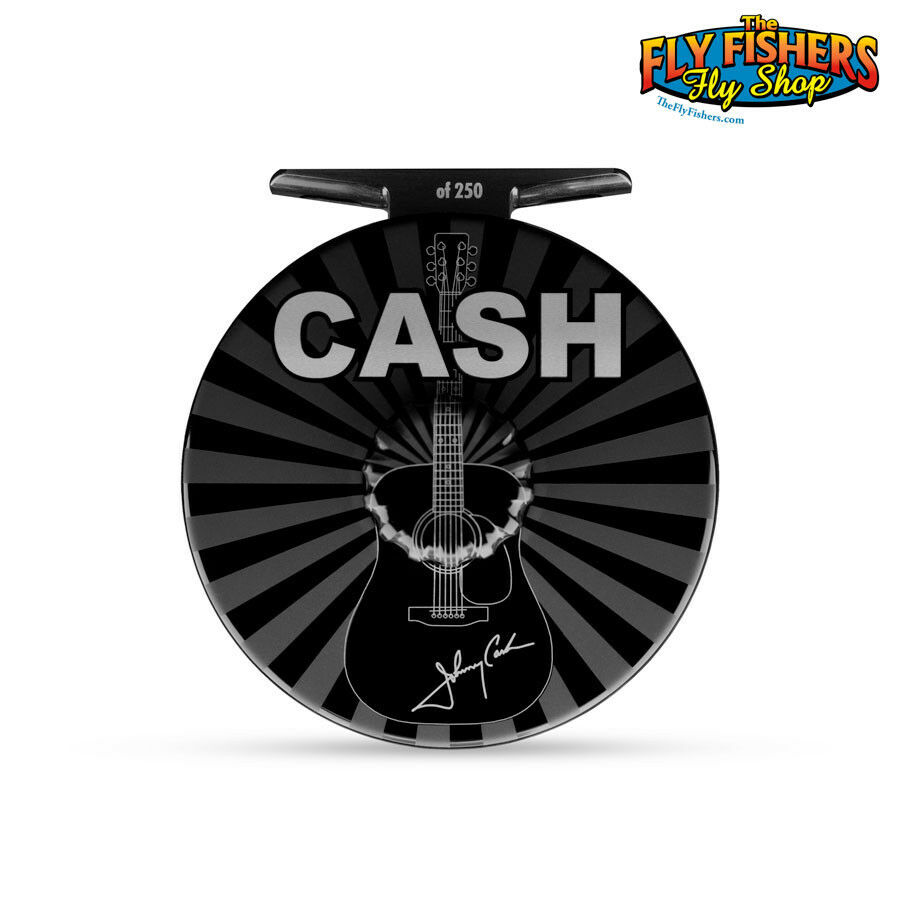 Abel Limited Edition Johnny Cash Super Series 5 6 Fly Reel - 1 of 250 Worldwide