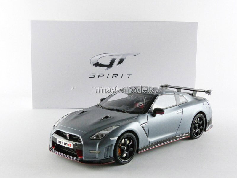 GT Spirit 2016 Nissan GT R 35 Nismo Matt Grey LE of 504 in 1 18 Scale. Rare