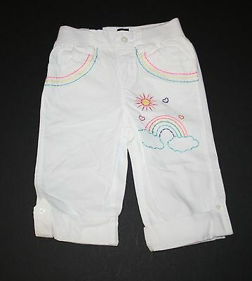 NWT 18-24M or 2//3 Cotton Pull-on Jeans Elastic Waist Boy or Girl Pants