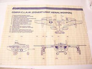 GI-G-I-JOE-1984-COBRA-CLAW-C-L-A-W-BLUEPRINT-84