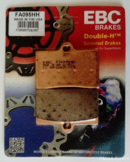 EBC Sintered FRONT Disc Brake Pads (1 Set) Fits YAMAHA SZR660 (1996 to 1997)