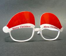 Weihnachtsbrille X-Mas Weihnachtsmann Nikolaus Santa Claus Brille XMAS Glasses