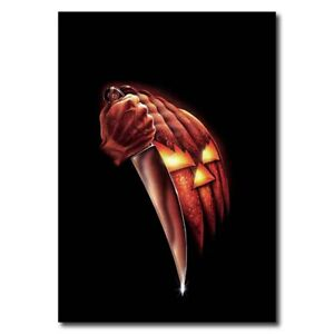 Halloween 12 X8 Classic Horror Movie Silk Poster Cool Gifts Art