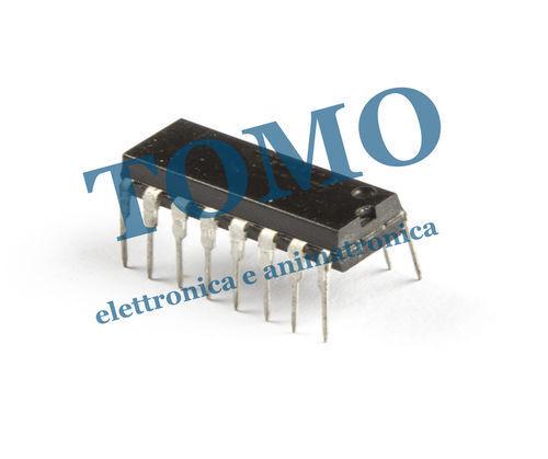 CD4543BE CD4543 DIP16 THT circuito integrato CMOS decoder dirver display BCD