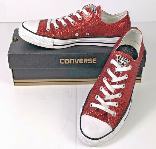 Converse Chuck Taylor All Star Low Top Red Sequin