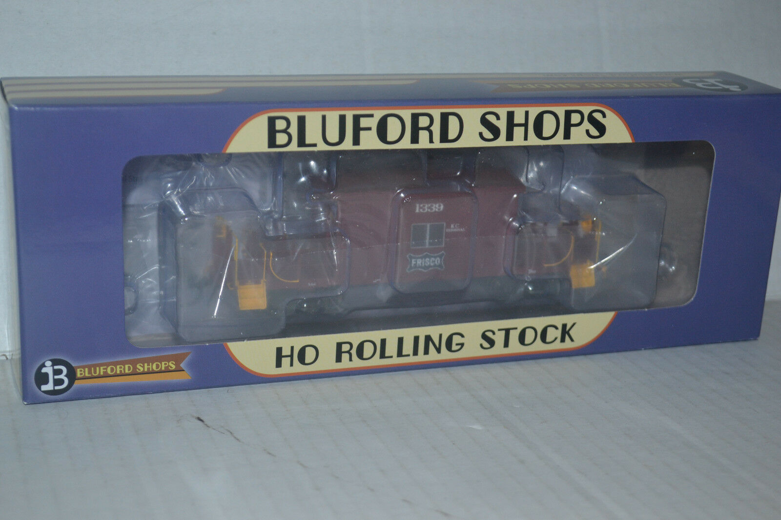 Bluford negozios 34191 Frisco Short Roof Transfer Caboose Ho Scale