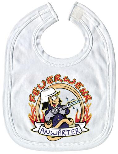 Lätzchen Feuerwehr Anwärter Qualitäts Schlabberlätzchen 07011