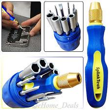 11Pcs Multi Functional Electronic Magnetic Screwdriver Set & Socket Tools Bottle