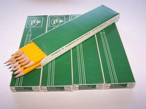 288 Stück Bleistifte Faber Castell HB = 2 1//2 Bonanza 1326-24 Packungen OVP