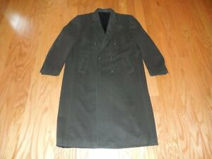 GIANFRANCO-Ruffini-Italy-CASHMERE-Blend-Dbl-Breasted-Loden-GREEN-Top-COAT-48L